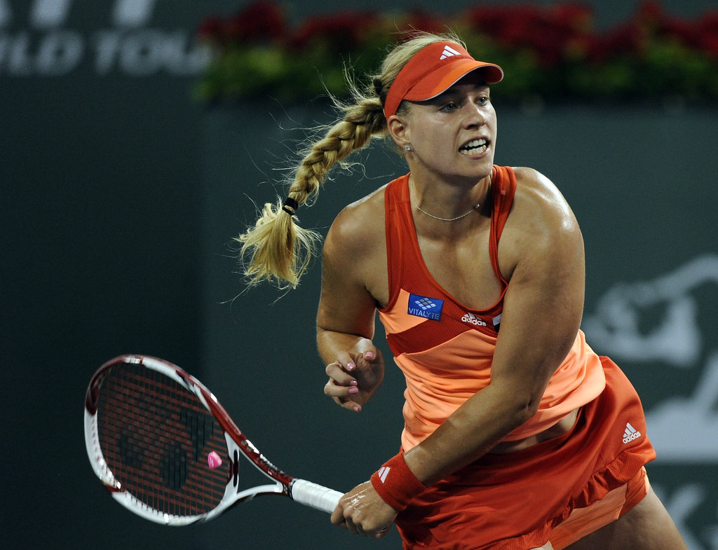 angelique kerber photos photos bnp paribas open day 12 zimbio. Black Bedroom Furniture Sets. Home Design Ideas