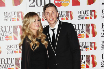 Candy McCulloch The BRIT Awards 2011 - Inside Arrivals