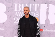 Marvin Humes attends The BRIT Awards 2019 held at The O2 Arena on February 20, 2019 in London, England.