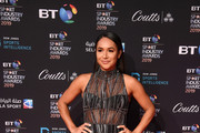 Heather Watson arrives on the red carpet at the BT Sport Industry Awards 2019 at Battersea Evolution on April 25, 2019 in London, England. The BT Sport Industry Awards is the biggest commercial sports awards in the world and an annual showcase of the best of the sector's creative and commercial output. The event brings together sports stars, celebrities, industry leaders, influencers and media from around the world for what is always a highly anticipated occasion.