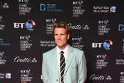 James Cracknell arrives on the red carpet at the BT Sport Industry Awards 2019 at Battersea Evolution on April 25, 2019 in London, England. The BT Sport Industry Awards is the biggest commercial sports awards in the world and an annual showcase of the best of the sector's creative and commercial output. The event brings together sports stars, celebrities, industry leaders, influencers and media from around the world for what is always a highly anticipated occasion.