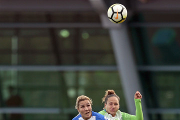 Babett Peter VfL Wolfsburg Women's v SC Huelva Women's - Friendly Match