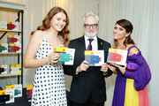 (L-R) Mary Louisa Whitford, Bradley Whitford and Amy Landecker attend Backstage Creations Giving Suite At The Emmy Awards - Day 2 at Microsoft Theater on September 22, 2019 in Los Angeles, California.