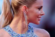 Ria Antoniou, detail, attends the premiere of 'The Bad Batch' during the 73rd Venice Film Festival at Sala Grande on September 6, 2016 in Venice, Italy.