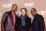 "Will Smith, Jerry Bruckheimer and Martin Lawrence attend the Berlin premiere of ""Bad Boys For Life"" at Zoo Palast on January 07, 2020 in Berlin, Germany."