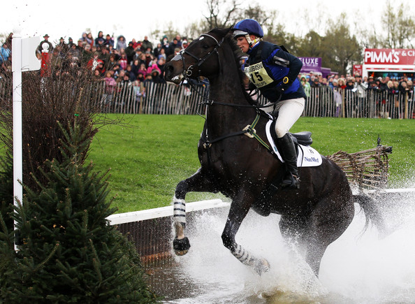 Zara Philips Zara Philips of Great Britain rides Glenbuck during the Cross Country Test on day three of the Badminton Horse Trials on May 2, 2010 in Badminton, England.