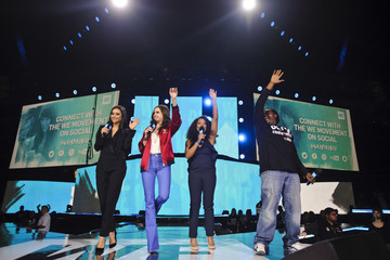 Bailee Madison Shay Mitchell Hosts WE Day Illinois to Celebrate Young People Changing the World