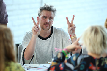 Balthazar Getty Rosetta Getty and Orchard Mile Host a VIP Dinner for Desert X in Palm Springs