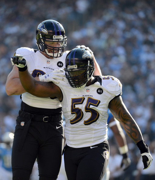 San Diego Chargers Baltimore Ravens: Terrell Suggs In Baltimore Ravens V San Diego Chargers