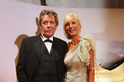 Actor Jan Vedder and his wife Marion arrive for the Bambi 2010 Award at Filmpark Babelsberg on November 11, 2010 in Potsdam, Germany.