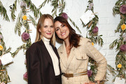 Anne Vyalitsyna and Agatha Luczo attend the Bambini Furtuna Launch Brunch at The Little Owl Townhouse on January 14, 2020 in New York City.