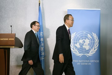 Ban Ki-moon Cyprus' Greek and Turkish Speaking Communities Will Conduct a Key Phase of Reunification Talks