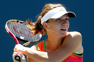 Simona Halep Bank of the West Classic - Day 2