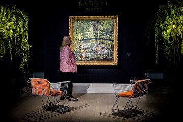 Banksy Highlights From Sotheby's Forthcoming Livestreamed Contemporary Art Evening Auction On 21st October