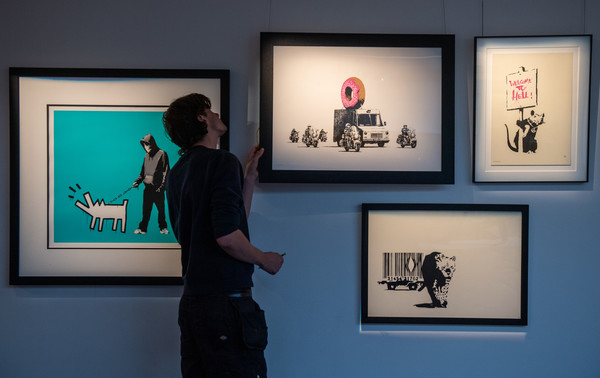 Colourful Exhibition Celebrating British Art At Sotheby's
