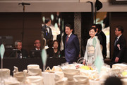 Banquet Hosted By PM Abe Celebrates Emperor Naruhito's Enthronement