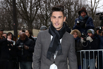 Baptiste Giabiconi Arrivals at the Chanel Runway Show — Part 4