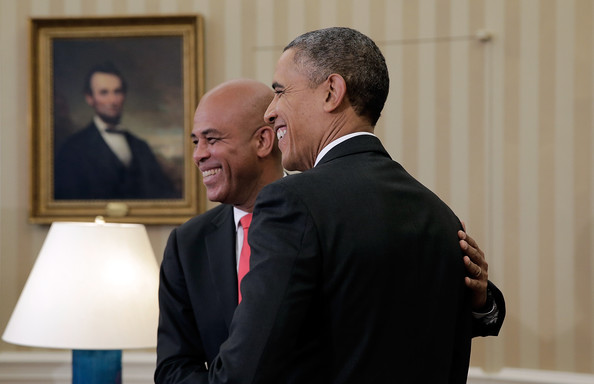 Michel Martelly and obama