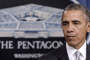 Barack Obama Obama Makes a Statement on the Counter-ISIL Campaign