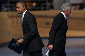Barack Obama Armed Forces Farewell Tribute to Chuck Hagel