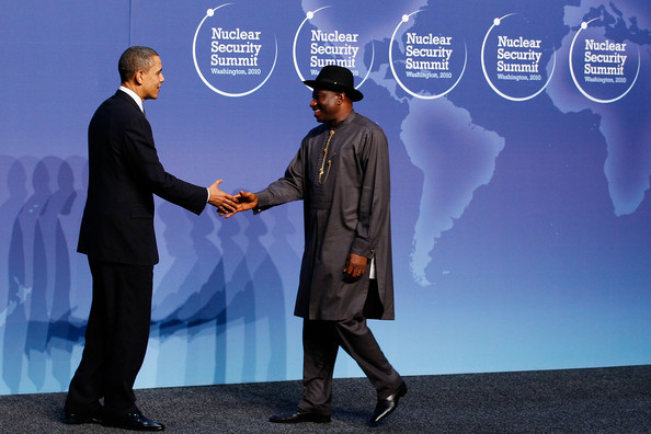 Goodluck Jonathan and Barack Obama - Pesident Obama Hosts World Leaders At Nuclear Security Summit