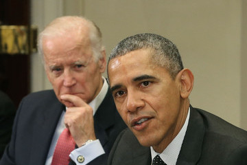 Barack Obama Obama And Biden Meets With National Security And Cybersecurity Advisors
