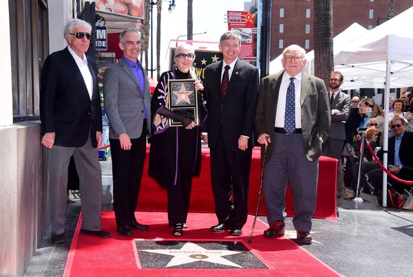 Barbara Bain Honored With Star on the Hollywood Walk of Fame