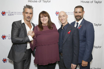Barbara Berkowitz Colin Farrell And Rep. Brian Sims Co-host A Dinner At House Of Taylor Benefitting The Elizabeth Taylor AIDS Foundation