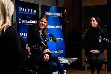 Barbara Bush Sisters Jenna Bush-Hager and Barbara Bush Discuss Their New Book During a SiriusXM 'Town Hall' Event Hosted by Julie Mason
