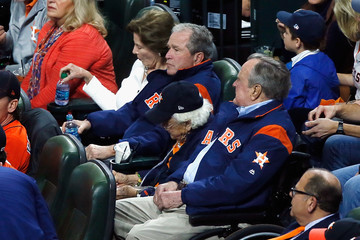 Barbara Bush World Series - Los Angeles Dodgers v Houston Astros - Game Five
