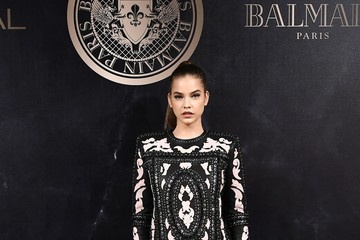Barbara Palvin L'Oreal Paris X Balmain Arrivals - Paris Fashion Week Womenswear S/S 2018