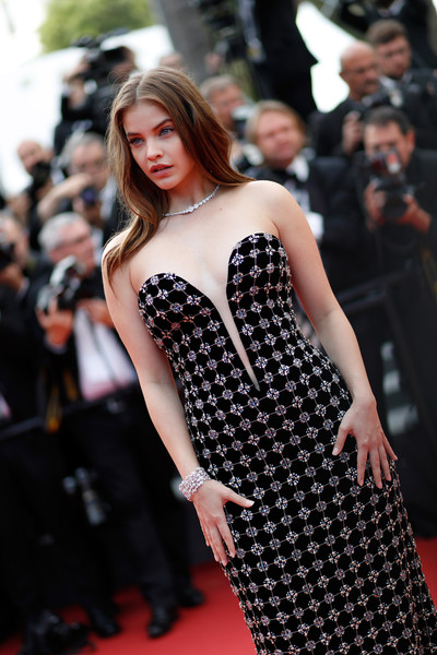 Barbara palvin photos photos 70th anniversary red carpet arrivals the 70th annual cannes - Barbara palvin red carpet ...