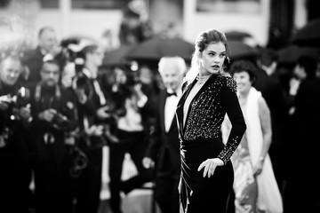 Barbara Palvin Alternative View In Black & White - The 71st Annual Cannes Film Festival