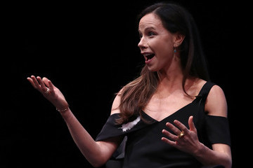 Barbara Pierce Bush Chelsea Clinton and Barbara Pierce Bush Speak at CARE Conference