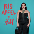 Barbie Ferreira Iris Apfel's 100th Birthday Party at Central Park Tower With H&M