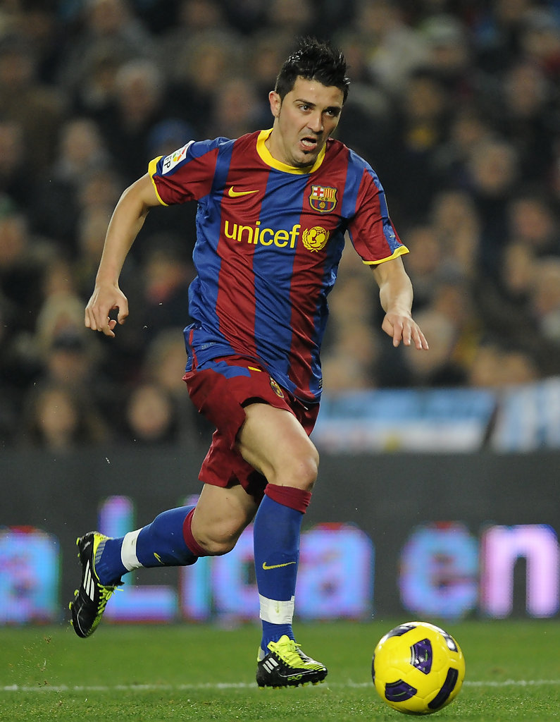david villa photos photos barcelona v malaga la liga
