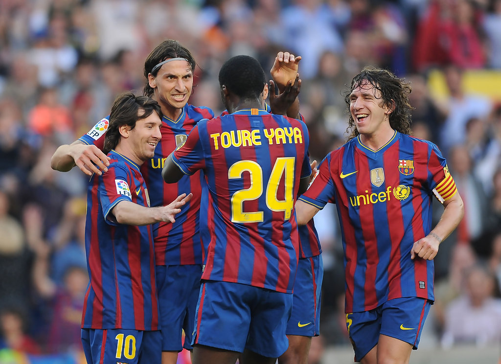 Zlatan Puyol,  Messi, Lionel - Carles Ibrahimovic Lionel