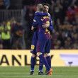 Lionel Messi and Andres Iniesta Photos
