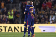 Lionel Messi and Andres Iniesta Photos Photo
