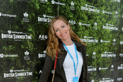 Leslie Mann attends the Barclaycard Exclusive Area at Barclaycard Presents British Summer Time Hyde Park at Hyde Park on July 13, 2019 in London, England.