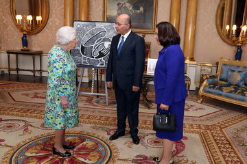 Barham Salih Private Audiences With The Queen 2019