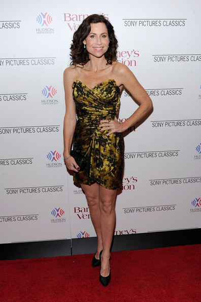 "Actress Minnie Driver attends the premiere of ""Barney's Version"" at Paris Theatre on January 10, 2011 in New York City."