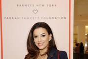 Eva Longoria attends Barneys New York Hosts A Cocktail Party In Support Of The Farrah Fawcett Foundation at Barneys New York Beverly Hills on April 11, 2019 in Beverly Hills, California.