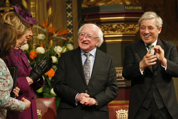Baroness D'Souza First State Visit of an Irish President