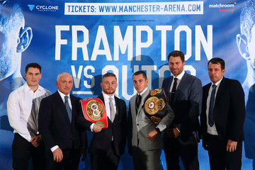 Barry McGuigan Carl Frampton Carl Frampton and Scott Quigg Press Conference