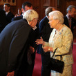 Barry Norman Celebs at the British Film Industry Reception
