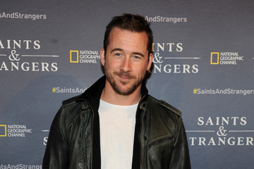 Barry Sloane National Geographic Channel's Saints & Strangers Pub 1620 Opening Event