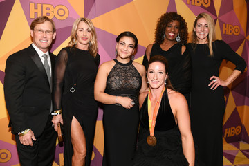 Bart Conner Laurie Hernandez HBO's Official Golden Globe Awards After Party - Red Carpet