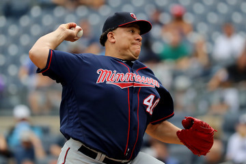 Bartolo Colon Minnesota Twins v New York Yankees