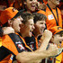 Mitch Marsh Jason Behrendorff Photos - The Scorchers celebrate after defeating the Hurricanes during the Big Bash League Final match between the Perth Scorchers and the Hobart Hurricanes at WACA on February 7, 2014 in Perth, Australia. - Scorchers v Hurricanes